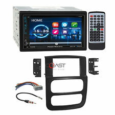"""Power Acoustik 6.2"""" Dvd Usb Stereo Dash Kit Harness for 02-05 Dodge Ram Truck"""