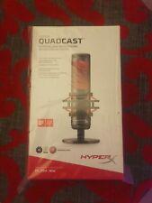 HyperX QuadCast Microphone HX-MICQC-BK - New and Sealed