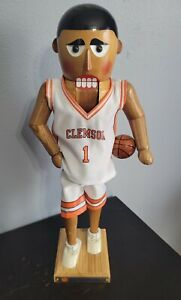 Sterling & Camille CLEMSON TIGERS Basketball 2002 Limited Edition Nutcracker