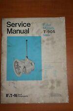 Eaton Service Manual Fuller Models T-905