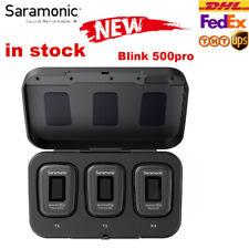 Saramonic Blink500 Pro B1 B2 Wireless Lavalier Lapel Microphone For Phone DSLR