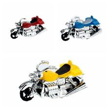 New Plastic Mini Motorcycle Model Toy Car Pull Back Motor Model Toy Kids Gift