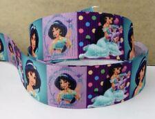 """3 yards 7/8"""" Grosgrain Ribbon Princess Jasmine DIY Hair Bow"""