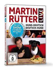 """MARTIN RÜTTER """"LIVE HUND DEUTSCH DEUTSCH HUND"""" 2 DVD"""