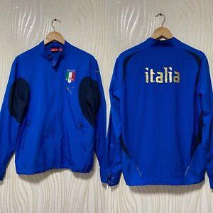 ITALY 2006 2008 FOOTBALL SOCCER TRACK TOP JACKET PUMA sz S