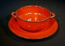 Beautiful Villeroy Boch Granada Cream Soup Bowl And Saucer