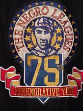 Negro League-NLBM-Wool-Leather-Jacket-Baseball-Varsity-College-3XL-XXXL-New-Rare