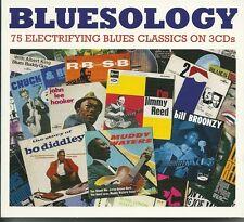 BLUESOLOGY - 3 CD BOX SET - MUDDY WATERS, BUDDY GUY & MORE Blues Music
