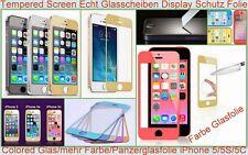 Temperato Vetro Blindato Screen Pellicola Protettiva Display (f). Apple iPhone 5