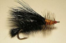 Kaufmann Stimulator  Black  #6 attractor flies
