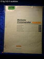 Sony Manual RM PP404 Remote Commander (#1718)