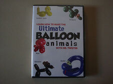 BALLOONS TWISTING LEARN HOW TO MAKE THE ULTIMATE OVER 50 ANIMALS DVD MAGIC TRICK