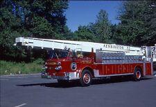KENSIGNTON, CT 1969 AMERICAN LaFRANCE AEROCHIEF 80' SNORKEL SLIDE