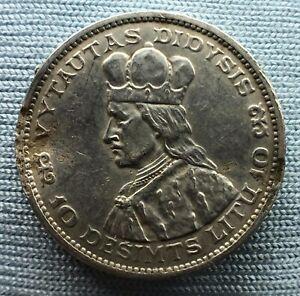 Lithuania 10 litu  1936