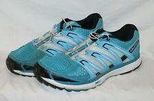 Salomon X-Scream Light Weight City Trail Shoes Blue Contagrip Mens Size 8