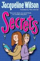 Secrets by Jacqueline Wilson, Good Used Book (Paperback) FREE & FAST Delivery!