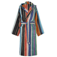 Bathrobe Missoni Home with hood White Black VIVIETTE 160