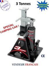 CRIC-CHANDELLE hydraulique cric bouteille 3T : IDÉAL POUR CAMPING-CAR