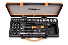 Beta Tools 910A/C29 34pc 3/8 Drive Socket Set inc 29 Sockets 5 Accessories