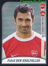 507 BEN KHALFALLAH TUNISIE VALENCIENNES.FC STICKER FOOT 2009-2010 PANINI