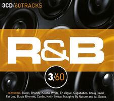 R&B 3/60 BRAND NEW SEALED 3 CD BOX SET *Coolio,Busta Rhymes,Tweet,Brandy + more