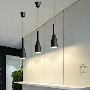 3X Bar Pendant Lights Kitchen Chandelier Light 3 Lamps Dining Room Ceiling Light