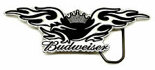 Budweiser Belt Buckle King of Beers Eagle & Crown Authentic Officially Licensed