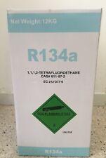 r134a GAZ REFRIGERANT CLIMATISATION RECHARGEUR 12 kg