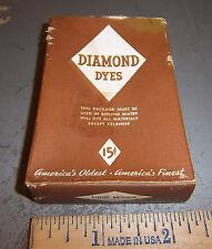 Vintage Diamond Dyes Light Brown - Wells & Richardson Company, Burlington VT