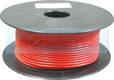 50m metro Rotolo / BOBINA RED Single Core cavo / filo 8,75 amp 14 Strand 1mm 1.00 MM ²