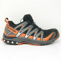 Salomon Mens XA Pro 391960 Black Orange Running Shoes Lace Up Low Top Size 11.5