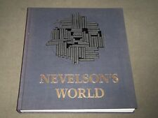1983 NEVELSON'S WORLD BY JEAN LIPMAN HARDCOVER BOOK - FIRST EDITION - D 244