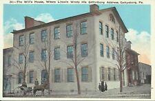 Gettysburg Pennsylvania The Wills House 1915 Postcard