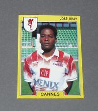 N°40 JOSE BRAY AS CANNES LA BOCCA PANINI FOOTBALL FOOT 92 1991-1992