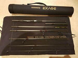 "Shimano Exage Specimen 12'6"" - 275FA. 7 Piece Travel Rod"