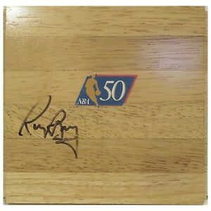 Rick Barry Golden State Warriors Signed Basketball Floor Board Proof Autograph