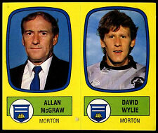 Allan Humana/David Wylie #539 A/B Pegatina Panini Fútbol 88 - 1988 (C216)