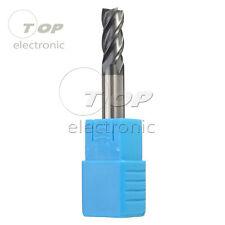 8MM Tungsten Carbide End Mill 4 Flute HRC50 60MM Length CNC Milling Cutter Bit