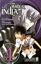 MANGA - A Certain Magical Index N° 4 - Mitico 192 - Star Comics - NUOVO