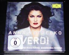 ANNA NETREBKO VERDI TAPA DURA LIMITADA DELUXE EDICIÓN CD + DVD