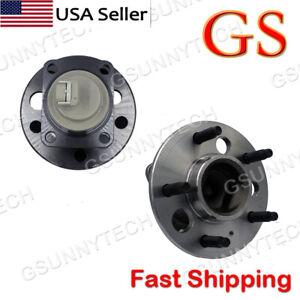 Set of 2 For Chevy Impala Pontiac Grand Prix Rear Wheel Bearing And Hub Assembly