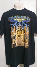 Iron Maiden powerslave T shirt heavy metal judas priest motorhead saxon
