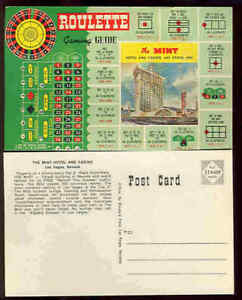 pc5949 postcard Roulette Gaming Guide MOBSC