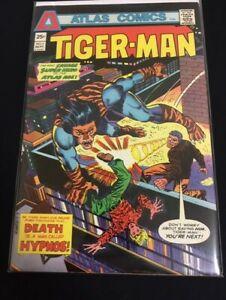 Tiger-Man #3 Gerry Conway Steve Ditko Very Fine- VF- (7.5) Atlas Comics 1975