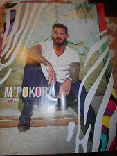 Matt Pokora M POKORA / Louane Emera - POSTER  A2 Grande Affiche du Magazine