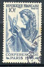 TIMBRE FRANCE OBLITERE N° 762 CONFERENCE DE LA PAIX A PARIS EN 1946