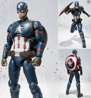 America Captian Figure Marvel Man Action Avengers Iron Thor Series Legends Hulk