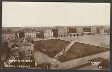 Postcard Royal Marines Depot at Deal nr Dover Kent the North Barracks RP Giles