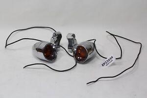 bullet turn signals w/ mounts Harley FXR Dyna XL Softail FL Touring FXDL EP22696