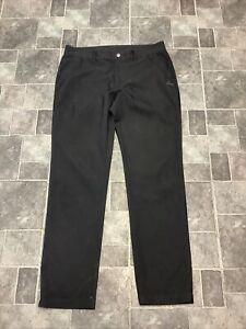 Adidas Mens Black Golf Trousers W34 L32